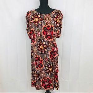 Cato 💫 ~Plus Size 💋 Printed Shift Dress